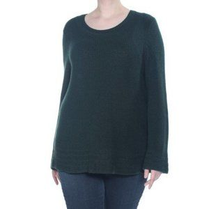 New Style & Co Flare-Sleeve Sweater 0338